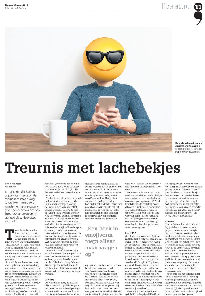 Treurnis met lachebekjes: sorrow with smileysTreurnis met lachebekjes: sorrow with smileys