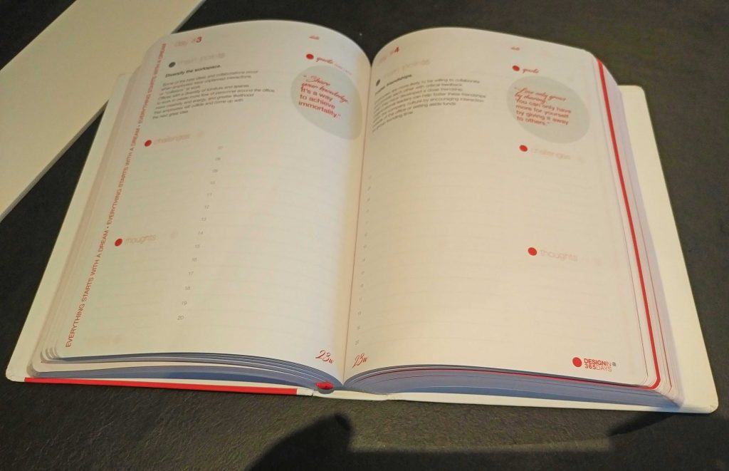 xl8 review of the 365 days planner