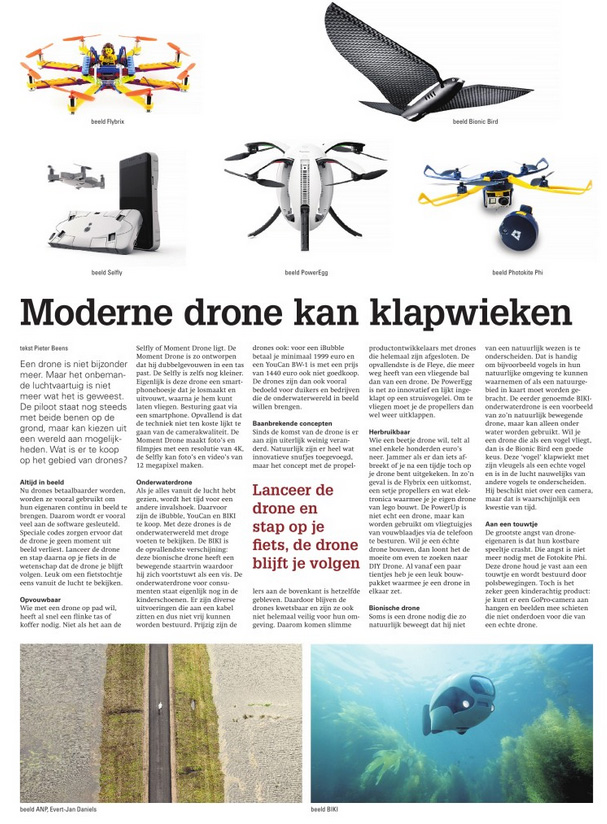 Review of drones