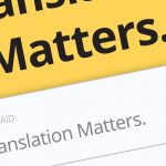 Translation Matters. Jost Zetszche - Review