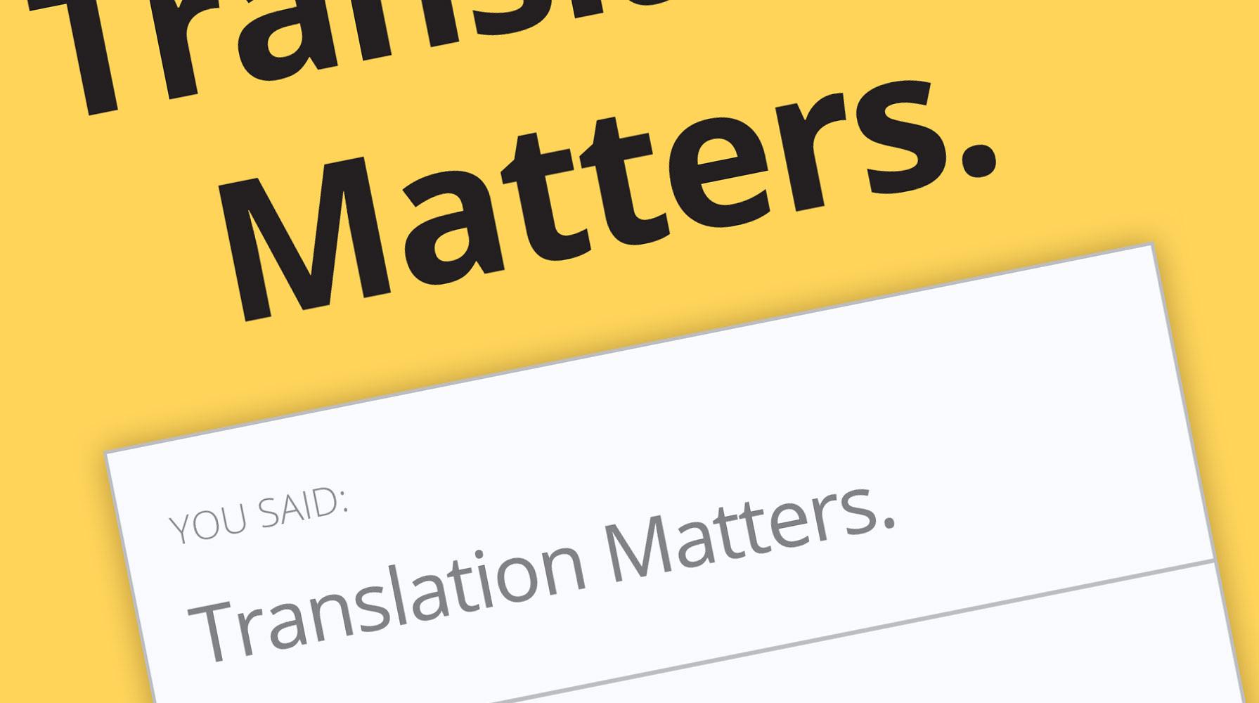 Translation Matters. Jost Zetszche - Review