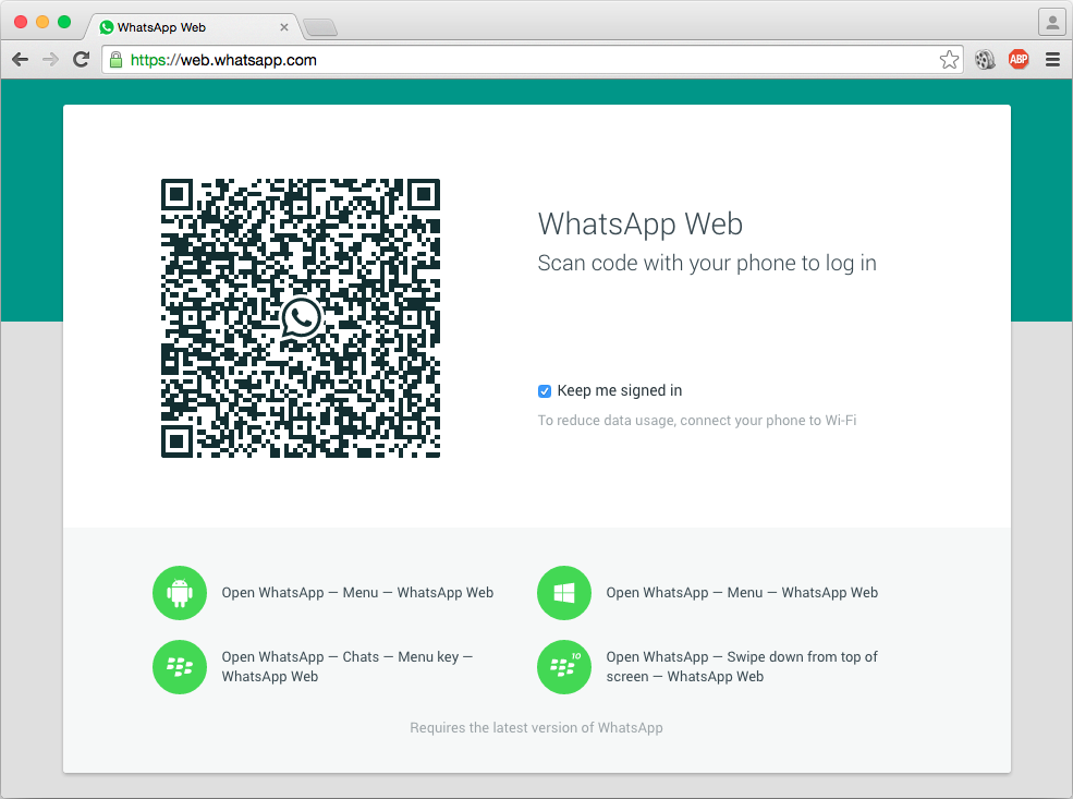 Login whatsapp online chat WhatsApp