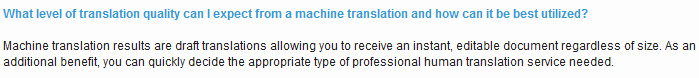 Xerox Easy Translator FAQ