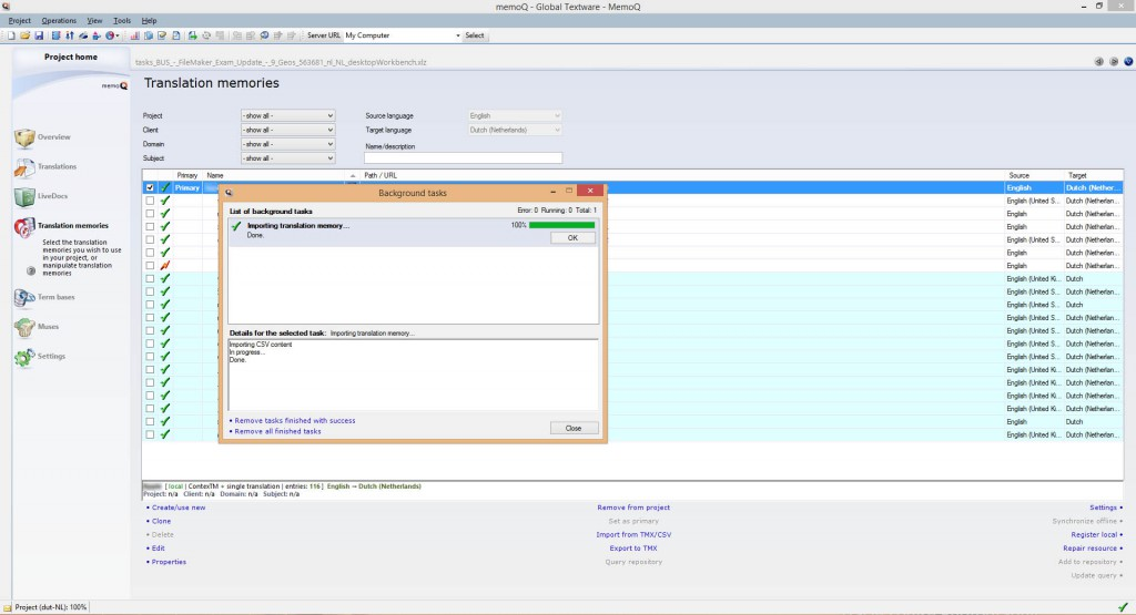 idiom worldserver workbench  software